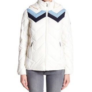 MICHAEL Michael Kors Ivory Womens Medium Quilted Jacket