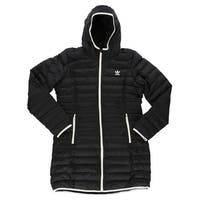 Adidas Womens Slim Padded Coat Black - L