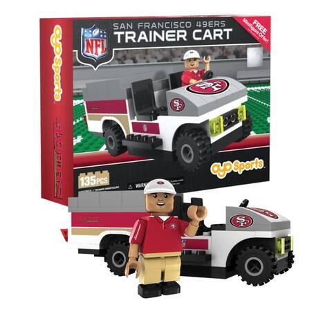 San Francisco 49ers NFL OYO Sports Mini Figure Trainer Cart - Multi