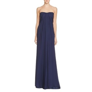 Aidan Mattox Womens Evening Dress Silk Chiffon
