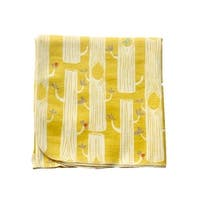 Sophia Sam Baby Yellow Sun Tree Pattern Organic Cotton Swaddle Blanket - One Size