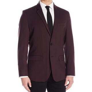 Kenneth Cole Reaction NEW Red Mens Size 2XL XXL Two Button Blazer