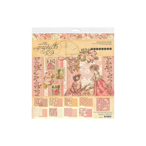 4501800 graphic 45 princess collection pack 12x12