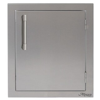 "Alfresco AXE-17R 17"" Wide Single Access Door with Right Hand Hinge - STAINLESS STEEL - N/A"