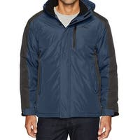 Hawke Blue Mens Size Large L Insulated Water-Resistant Jacket