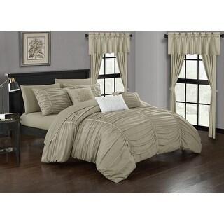 Link to Chic Home Hallstatt 20 Piece Comforter Set Designer Bed in a Bag Bedding, Beige Similar Items in Comforter Sets