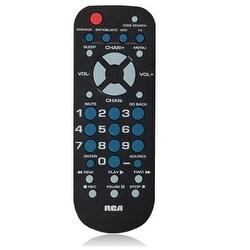 GE/RCA RCR504BR Series 4 in 1 Universal Remote Control