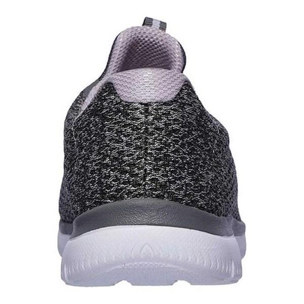 Summits Striding Sneaker Gray/Lavender