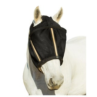 Noble Outfitters Fly Mask Fleece Flex Spine Contoured Canopy