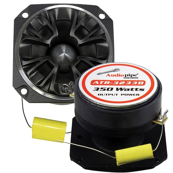 Audiopipe Bullet Tweeter 350 Watts 4 ohm Black with grill (each)