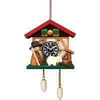 ULBR 10-0567 Christian Ulbricht Ornament - Cuckoo Clock Sheep