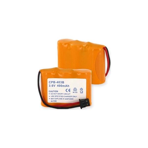 Replacement Panasonic KX-TC1200 NiCD Cordless Phone Battery - 400mAh / 3.6v