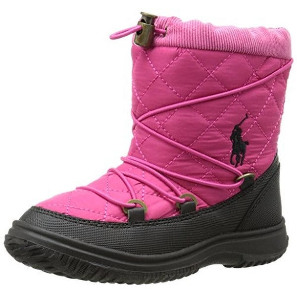 Polo Ralph Lauren Girls Orao Winter Boots Quilted