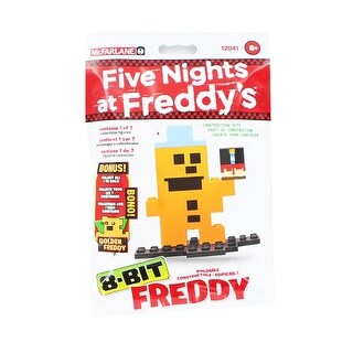 Five Nights at Freddy's 8-Bit Buildable Figure: Freddy