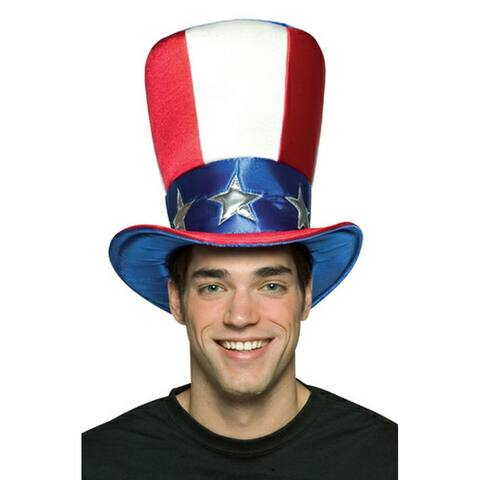 Rasta Imposta Uncle Sam Top Hat - Solid