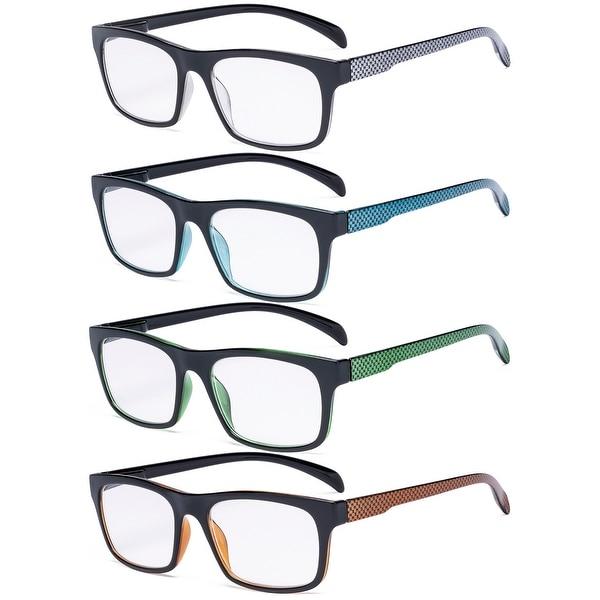 Eyekepper 4 Pack Reading Glasses - Pattern Design Readers. Opens flyout.