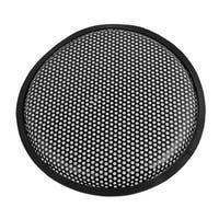 "Unique Bargains Auto Car Black 10"" Round Metal Mesh Speaker Sub Box Subwoofer Grill Cover"