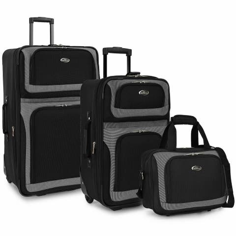 New Yorker 3-Piece Rolling Luggage Set
