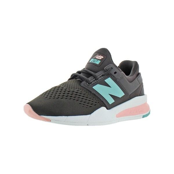 38426e6aec7fc Shop New Balance Womens 247 Tritium Athletic Shoes REVlite Lifestyle ...