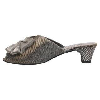 J. Renee Womens Twylar Glitter Peep-Toe Evening Heels - 5.5 medium (b,m)