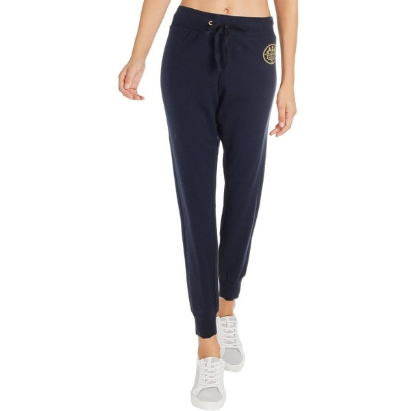 25946212db2 Juicy Couture Black Label Womens Regal Crest Sweatpants French Terry Jogger