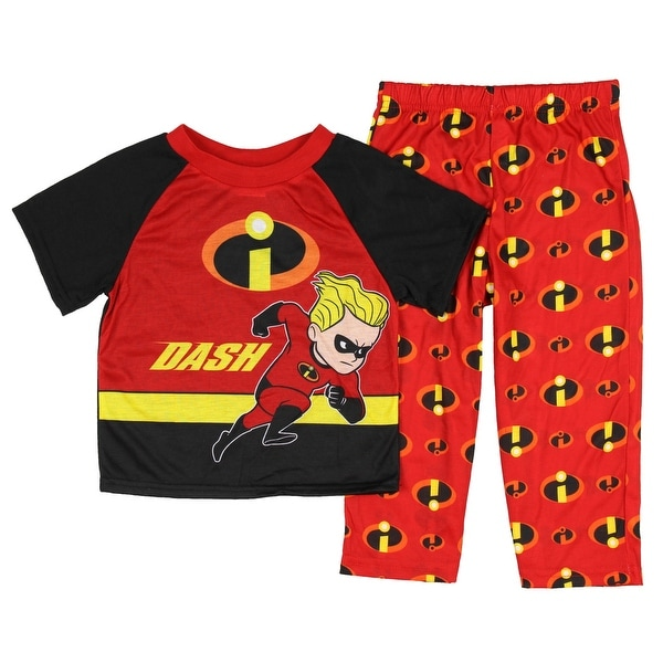 a56deaa1ec Disney Pixar Incredibles 2 Little Boys' Toddler Dash 2-Piece Pajama Set