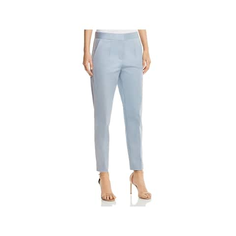 Donna Karan Womens Dress Pants Slim Pleated