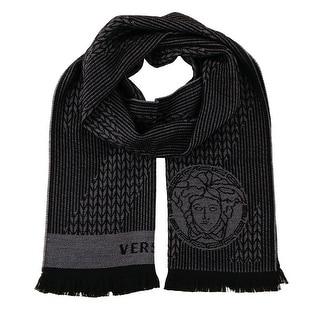 Versace IT00636 100% Wool Mens Scarf