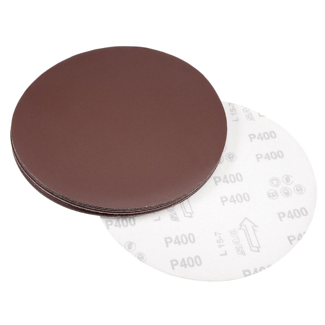 10Pcs Sanding Discs Sandpaper  Pads for Circular Sander 120#