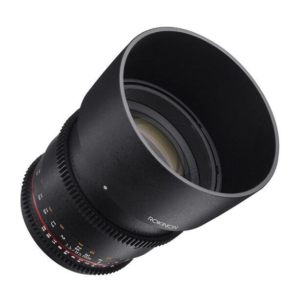 Rokinon DS 85mm T1.5 Cine Lens for Canon EF - Black