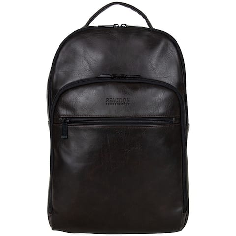 Kenneth Cole Reaction Vegan Leather 15.6-inch Laptop & Tablet Computer RFID Backpack