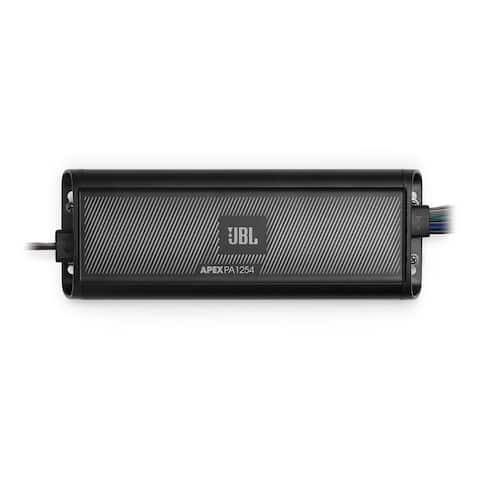 JBL Apex PA1254 75 Watts x 4 Marine/Powersports 4-Channel Amplifier - Black