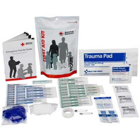 First Aid Only 720007 American Red Cross Home Zip Bag Kit