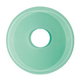 Replacement Waterfall Faucet Green Glass Disc Tray Plate