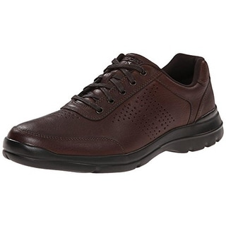 Rockport Mens Leather Contrast Trim Casual Shoes - 11.5 wide (e)