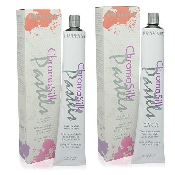 PRAVANA ChromaSilk Pastels (Too Cute Coral) 3 Fl 0z - 2 Pack