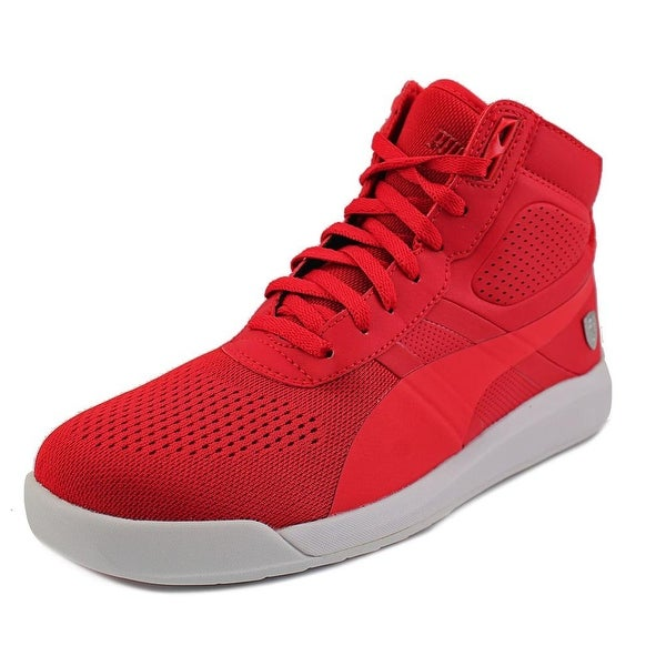 Puma Podio TD Mid SF Round Toe Synthetic Sneakers