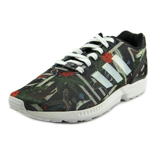 Adidas ZX FLUX Round Toe Canvas Sneakers