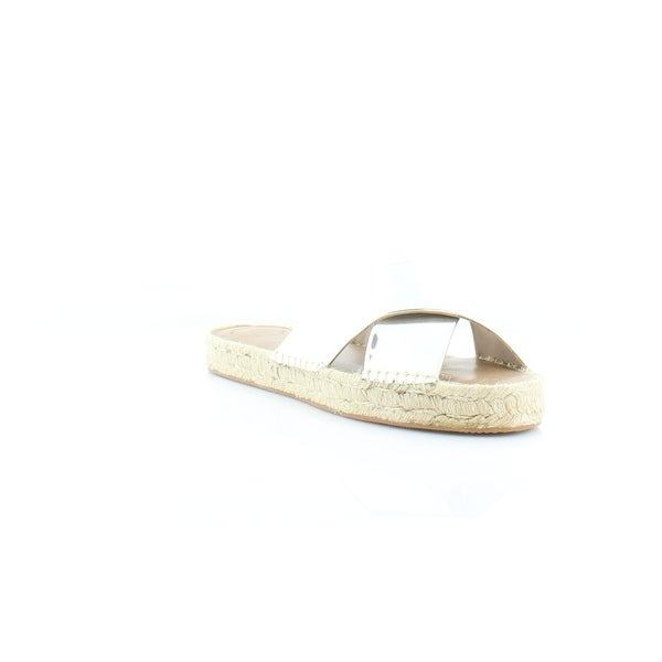 French Connection Luz Women's Sandals & Flip Flops Silver - 9