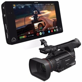 "Atomos Shogun 4K HDMI/12G-SDI Recorder and 7"" Monitor + Panasonic AG-HPX205 Camcorder 6Ave Saver Bundle"