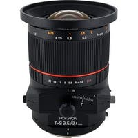 Rokinon Tilt-Shift 24mm f/3.5 ED AS UMC Lens for Nikon - black