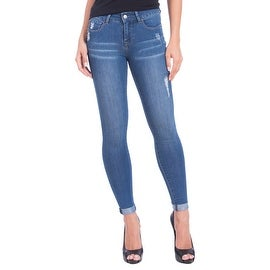 Lola Jeans Blair-DMB, Mid Rise Ankle Jeans With 4-Way Stretch Technology