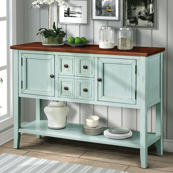 Cambridge Series Buffet Sideboard Console Table with Bottom Shelf. Opens flyout.