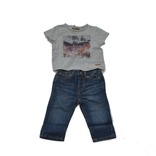 Two Piece Sweater And Jeans Set For Boys
