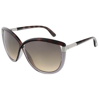 Tom Ford FT0327/S 56B Abbey Havana Gradient Square Sunglasses