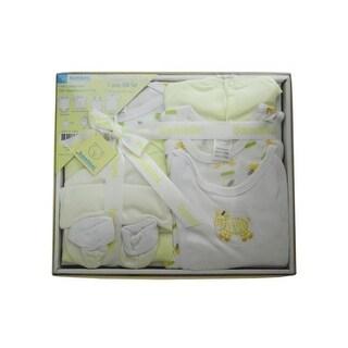Bambini Yellow 7-Piece Pastel Interlock Boxed Gift Set