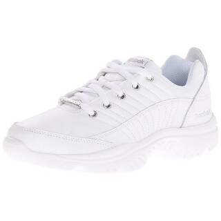 Reebok Womens Royal Lumina Leather Lace-Up Fashion Sneakers - 11 medium (b,m)