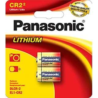 Panasonic CR2 3V Lithium Battery CR-2PA/2B