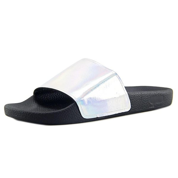Sixtyseven 77021 Open Toe Leather Slides Sandal