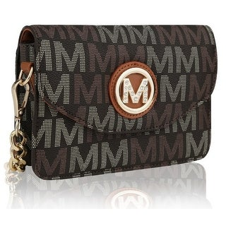 MKF Collection Ferrara M Signature Crossbody Bag by Mia K. Farrow